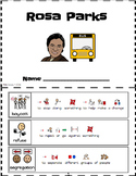 Rosa Parks Unit Modified with Picture Symbol Text Support (Special Education)