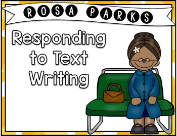Rosa Parks Writing Activities