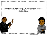 Rosa Parks and Martin Luther King, Jr. Activities