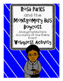 Rosa Parks and the Montgomery Bus Boycott Multiple Accounts of the Same Event