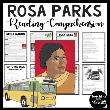 Rosa Parks biography, poem, primary sources, DBQ, Civil Rights, Black History