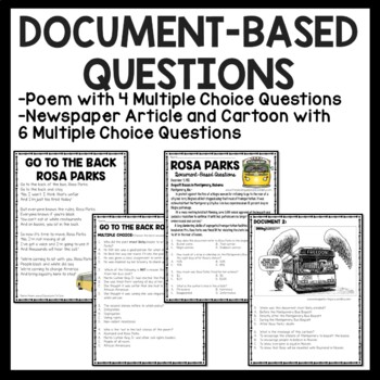Unusual image with civil rights movement worksheets printable