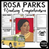 Rosa Parks Montgomery Bus Boycott Reading Comprehension Civil Rights Movement