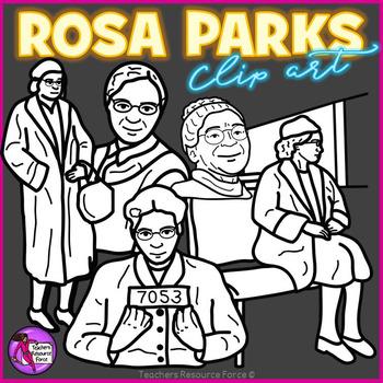 Rosa Parks clip art
