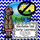 Rosa Parks for Early Learners:  Black History Month