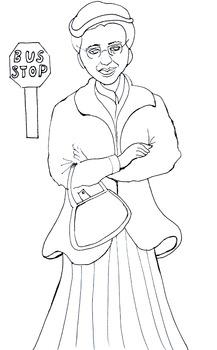Rosa Parks puppet