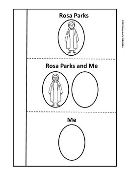 Rosa Parks's Interactive Notebook Pages