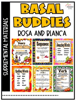 Rosa and Blanca -Reading Street (2013)2nd Grade Unit 3 Week 4