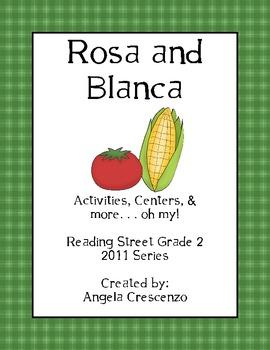 Rosa and Blanca Reading Street Grade 2 2011 & 2013 Series