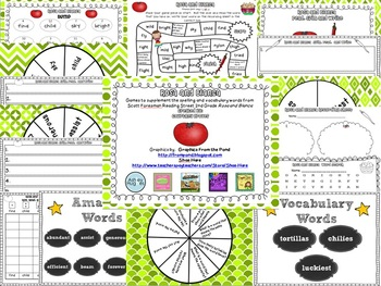 Rosa and Blanca Spelling and Vocabulary Games