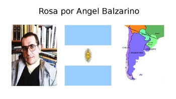 Rosa by Angel Balzarino PPT for short story