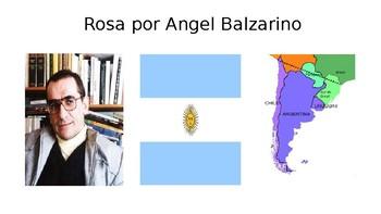 Rosa by Angel Balzarino PPT for short story