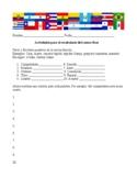 Rosa by Angel Balzarino vocabulary building activities