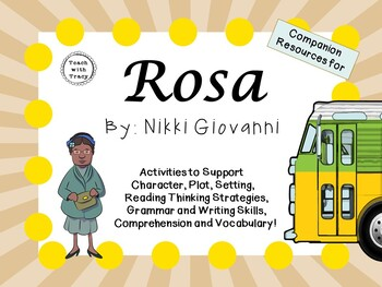 Rosa by Nikki Giovanni:  A Complete Literature Study!