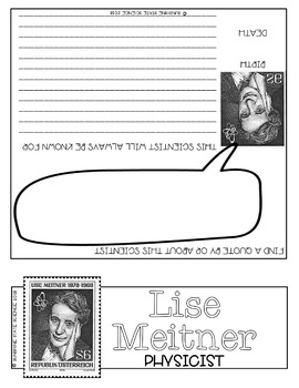 Science Biography Project - Lise Meitner