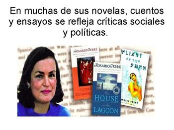 Rosario Ferré PPT in Spanish