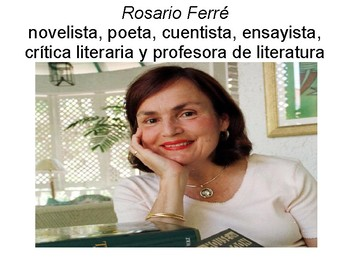 Rosario Ferré PPT in Spanish