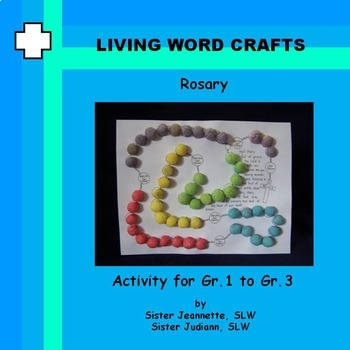 Rosary 3D using Magic Nuudles for Gr.1 to Gr.3