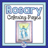 Rosary Coloring Pages