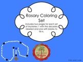 Rosary Coloring Set