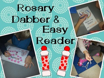 Rosary Dabber Page and Easy Reader