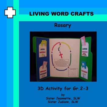 Rosary History Lapbook for Grade 3-5