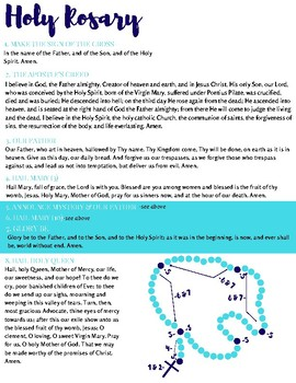 Rosary How To
