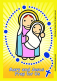 Rosary Poster - Catholic