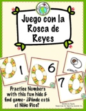 Rosca de Reyes Three King's Day Numbers Game for Spanish Class