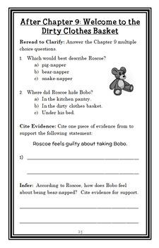 Roscoe Riley Rules: Never Swipe a Bully's Bear (Applegate) Novel Study