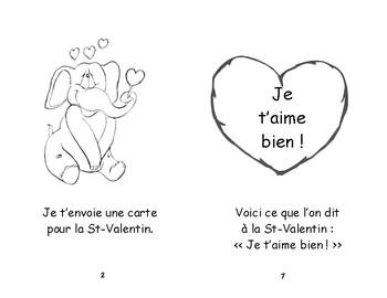 Rose- A-12  ENFANT 2e et 3e Bonne Saint-Valentin