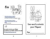 Rose A-16 Des oeufs colorés ENFANT Petit livret de lecture 2e et 3e