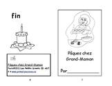 Rose A-17 Pâques chez Grand-Maman ENFANT Petit livret de lecture 2e et 3e