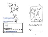 Rose C-8 En Avril  Le cerf-volant ENFANT Petit livret de lecture 2e et 3e