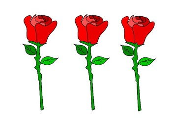 Rose Clip Art and Templates