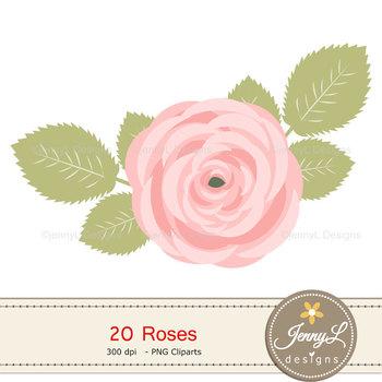 Rose Clipart Flowers, Flora, Flower Clipart