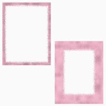 Rose Digital Borders Clipart, Rose Gold Photo Frame