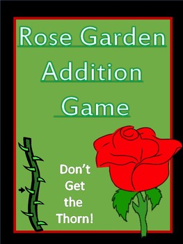 Rose Garden Addition Game