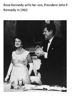 Rose Kennedy Word Search