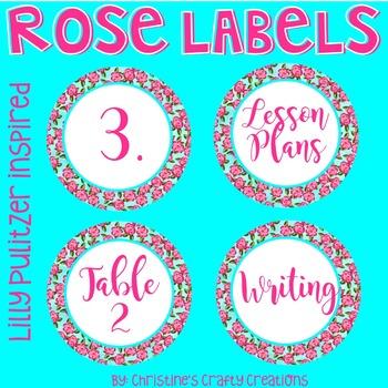 Rose Labels