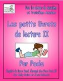 Rose-Petits Livrets de lecture  pour 2e et 3e Couverture et Instructions