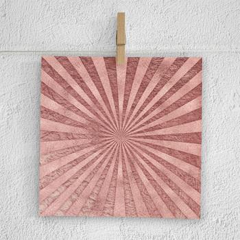 Rose Sunburst Digital Paper
