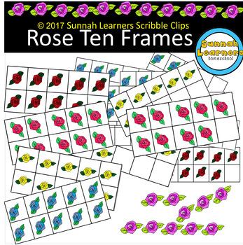 Rose Ten Frames