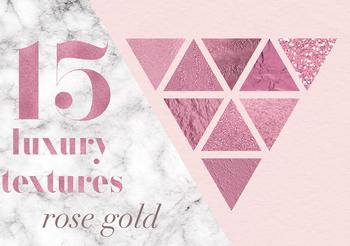 Rose Textures, Beautiful Rose Gold Backgrounds