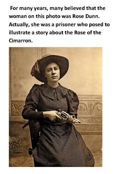 Rose of Cimarron Handout