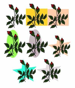 Rosebuds Clipart