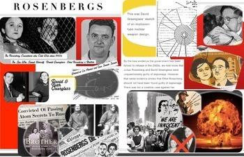 Julius & Ethel Rosenbergs  ~ FREE POSTER ~ Espionage & Treason Spies
