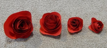 Mother's-Valentine's Day Craft Activity: Paper Roses Craft Activity Packet