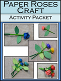 Mother's-Valentine's Day Craft Activity: Paper Roses Craft