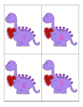 Roses Are Pink, Dinosaurs and Valentines Make You Think: A Ten Frame Game